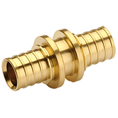 Соединительная муфта General Fittings d25/d25 латунь (3400.00) - фото